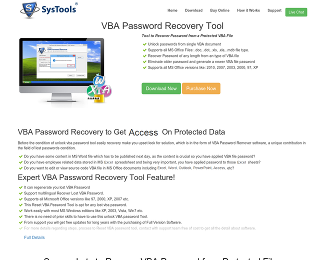 Unlock Excel VBA Password Recovery