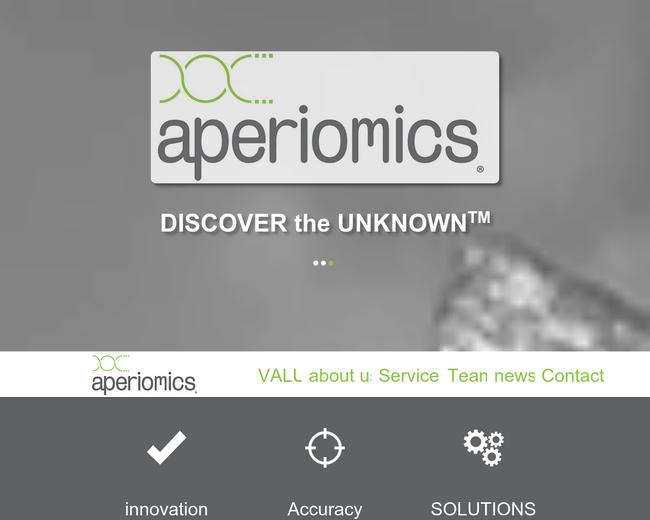 Aperiomics