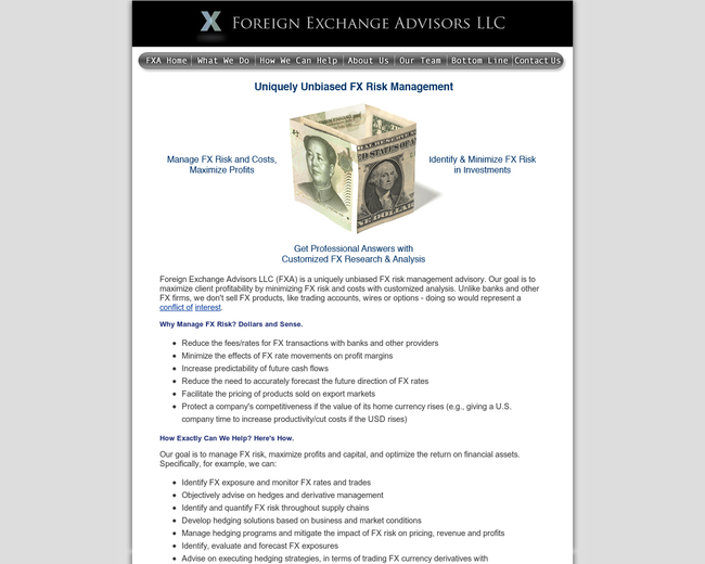 Foreign Exchange Advisors