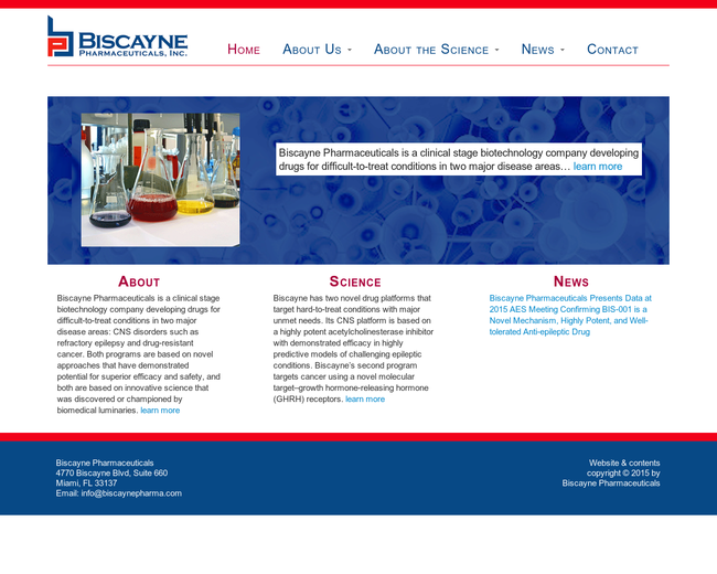 Biscayne Pharmaceuticals