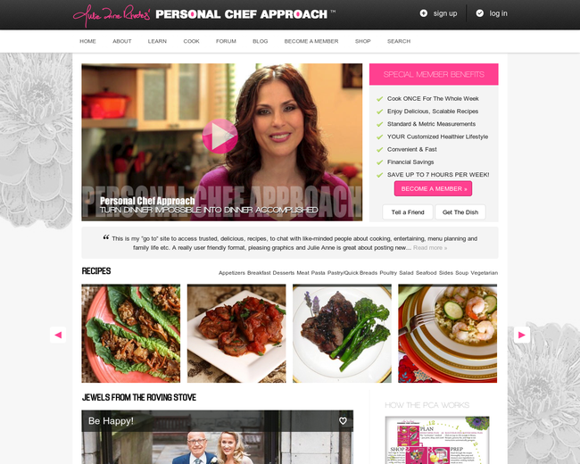 Personal Chef Approach