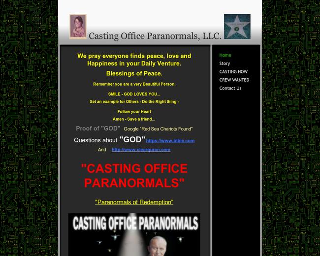 Castingofficeparanormals.com