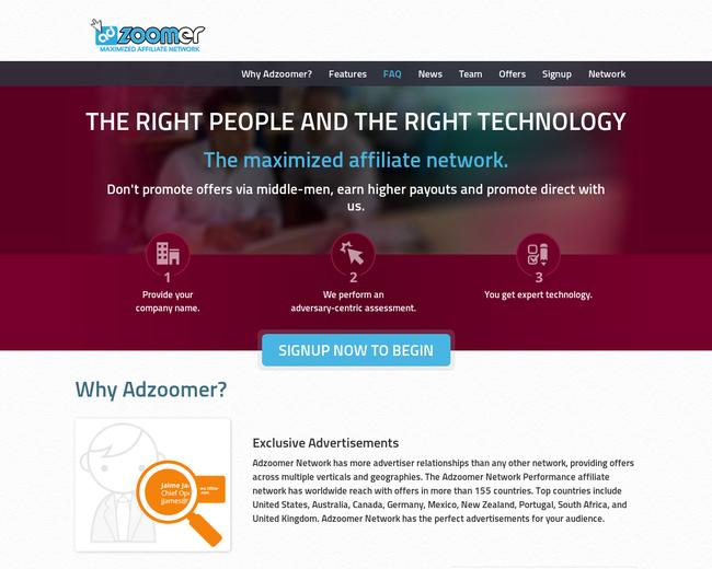 Adzoomer Maximized Network