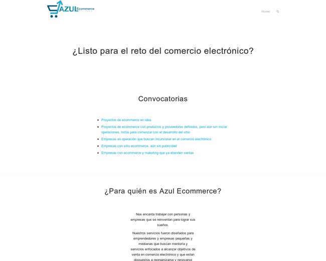 Azul E-Commerce