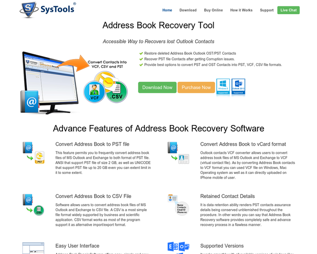 Address Book Recovery Software