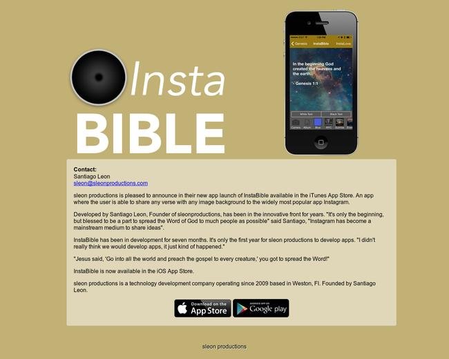 Insta Bible