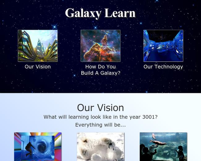 Galaxy Learn