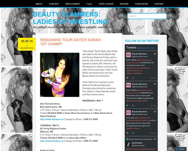 Beauty Slammers: Ladies of Wrestling