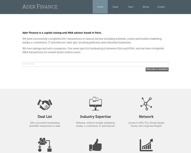 Ader Finance