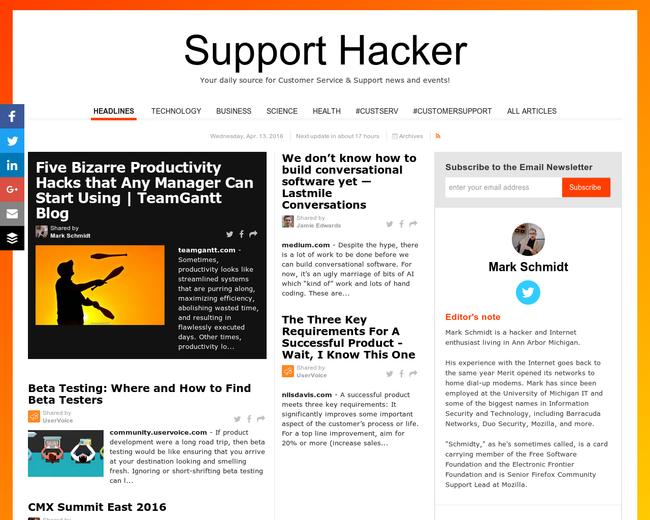 Support Hacker