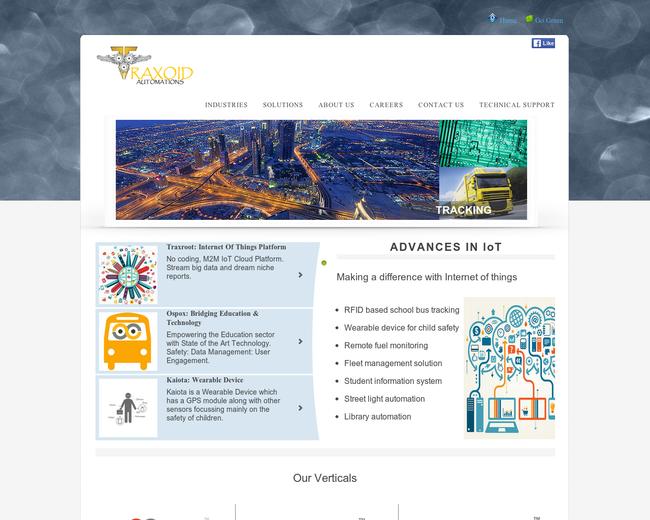Traxoid Automation: RFID | GPS | IoT
