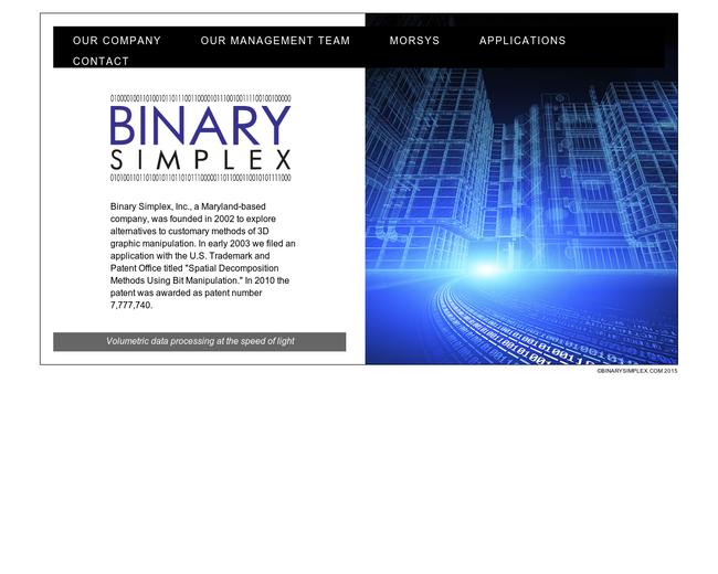 Binary Simplex