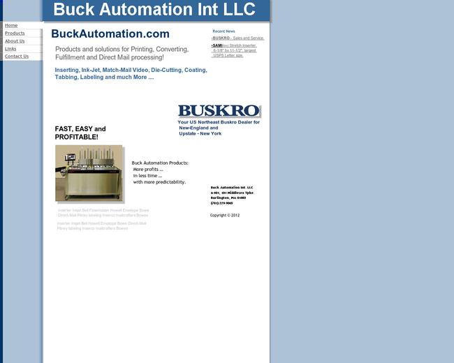 BuckAutomation