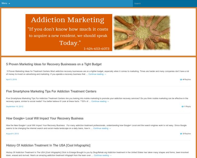 Addiction Marketing