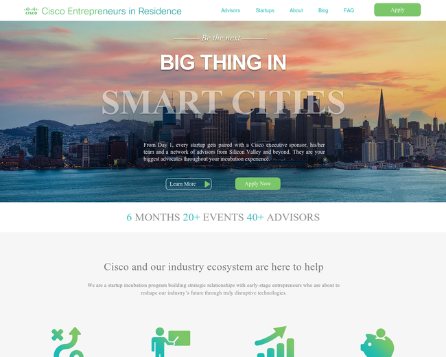 Cisco Entrepreneurs in Residence