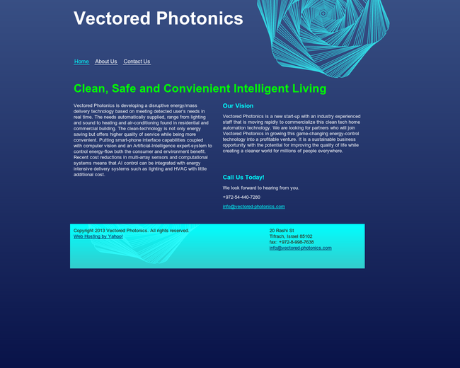 Vectored Photonics