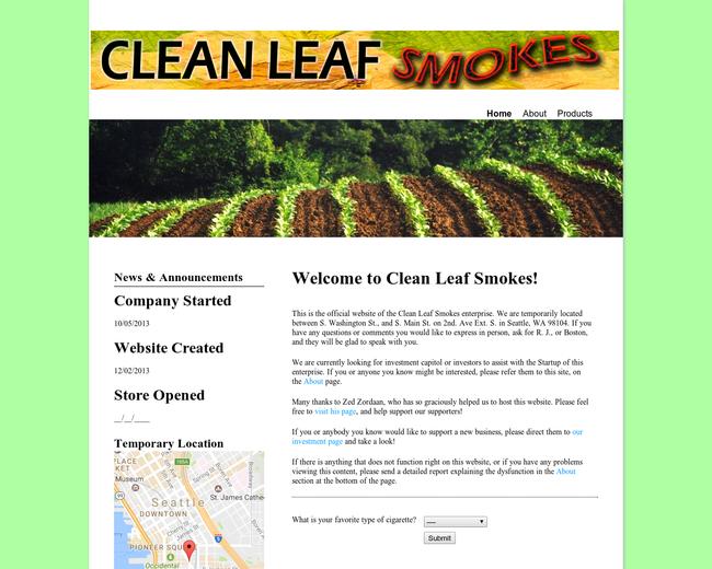 Clean Leaf Smokes
