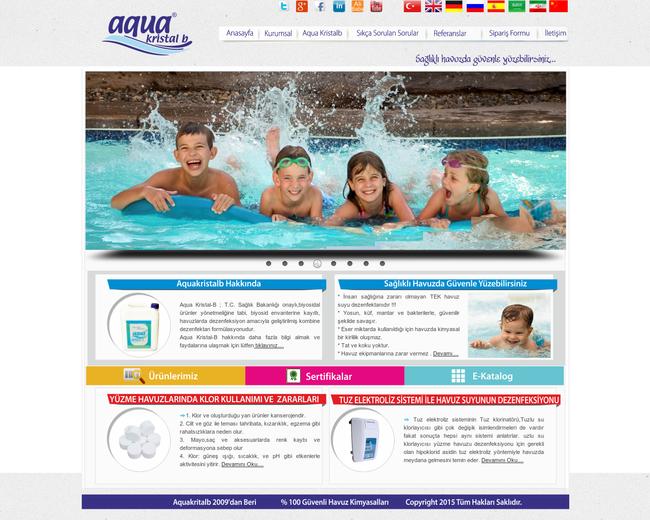Aquakristalb non-chlorine desenfection