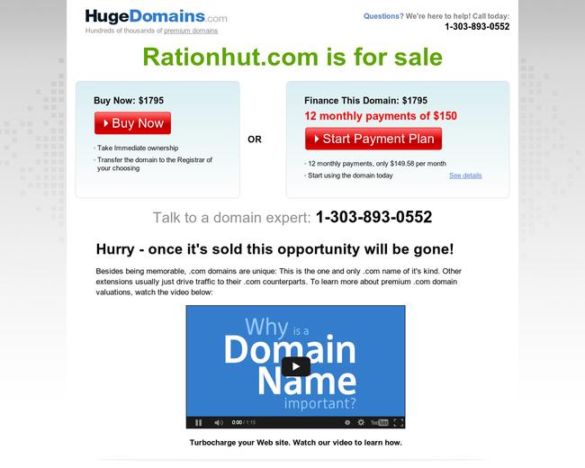 Rationhut.com
