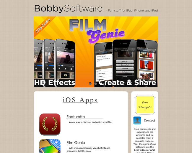 Bobby Cronkhite Software