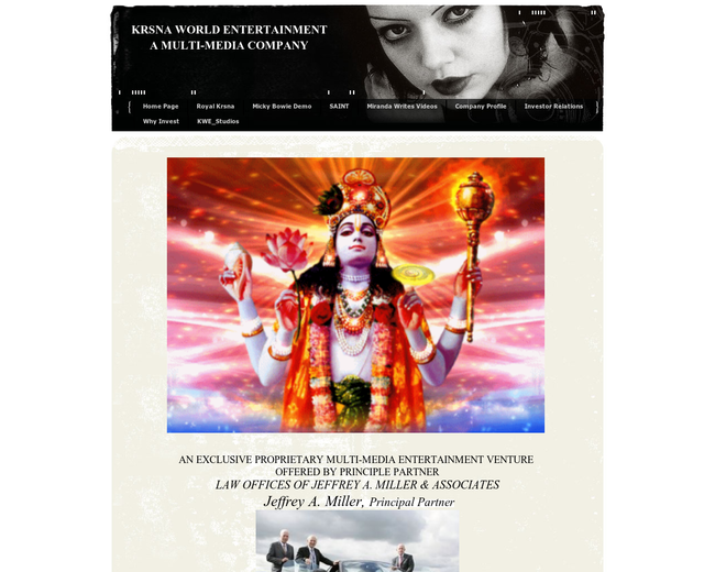 Krsna Inc. Krsna World Ent