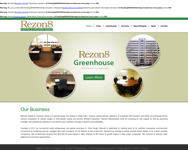 Rezon8 Capital & Advisory Group