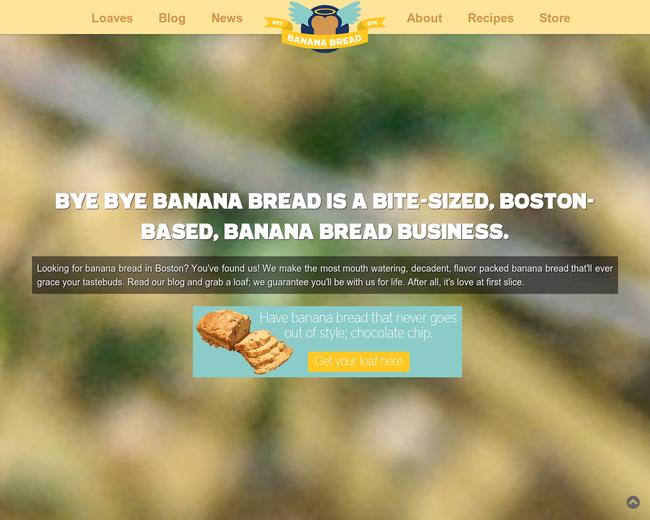 Bye Bye Banana Bread