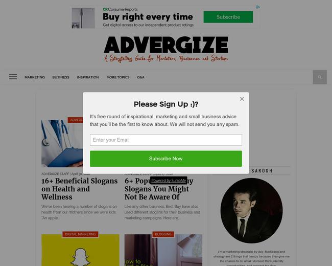 Advergize
