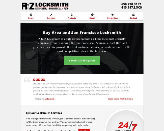 A to Z Locksmith