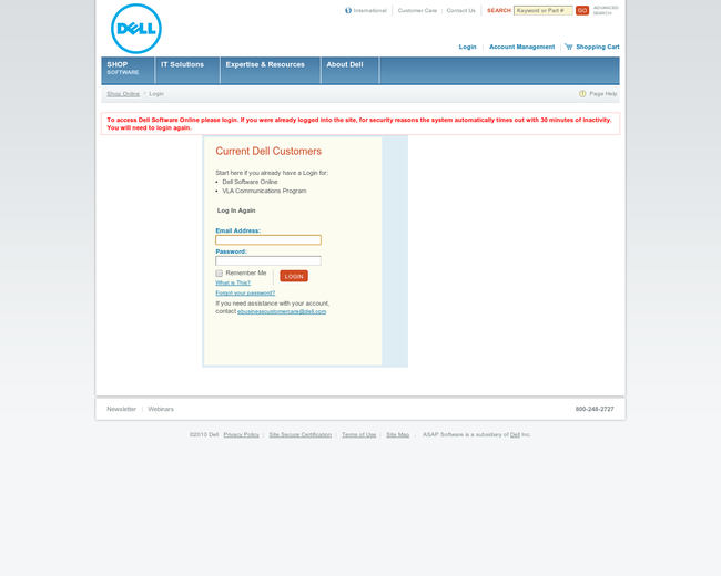 ASAP Software (now Dell)