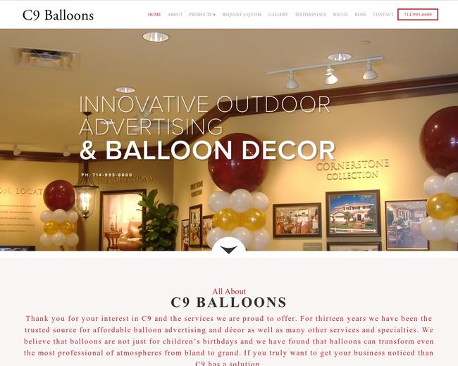 C9 Balloons