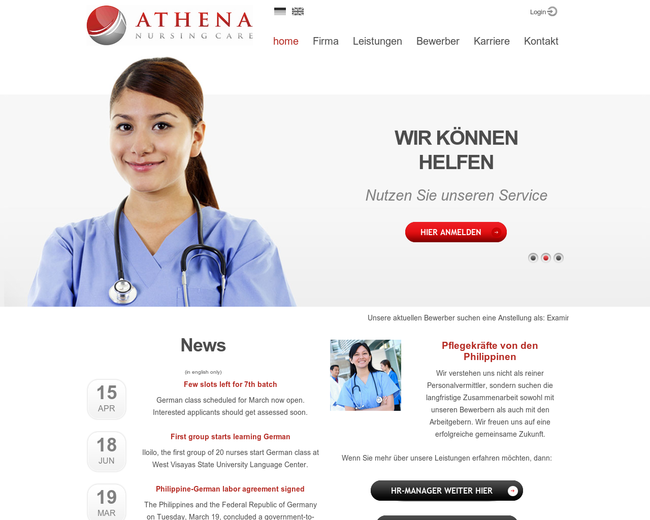 Athena Nursing Care