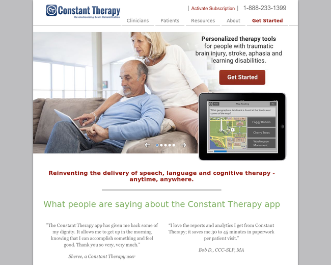 Constant Therapy