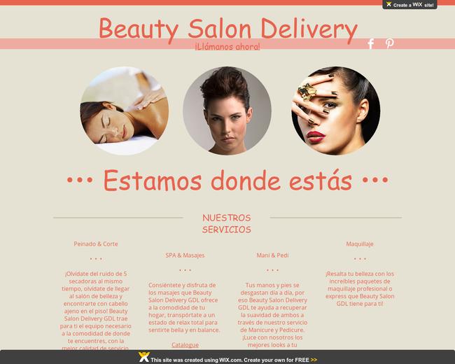 Beauty Salon Delivery