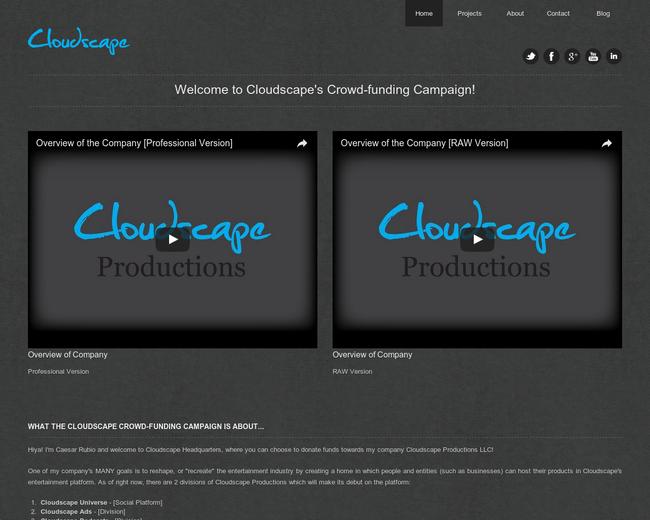 Cloudscape Productions