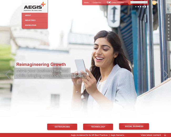 Aegis Outsourcing