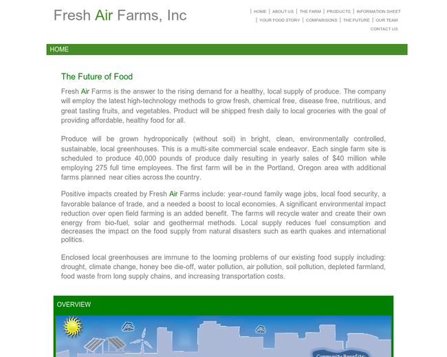 Fresh Air Farms