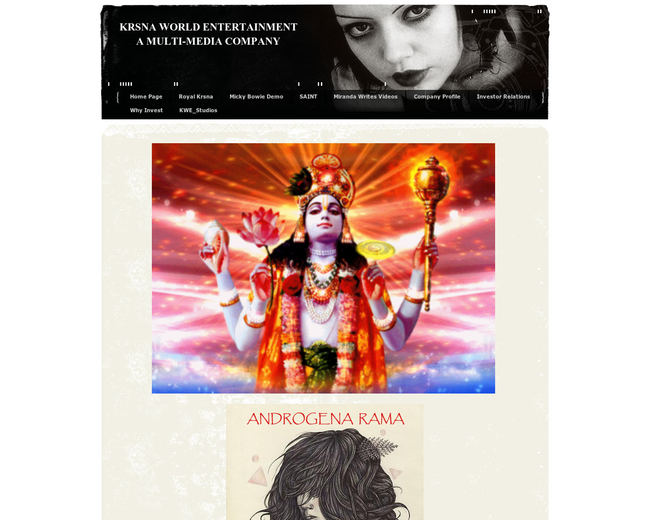 KRSNA WORLD ENTERTAINMENT