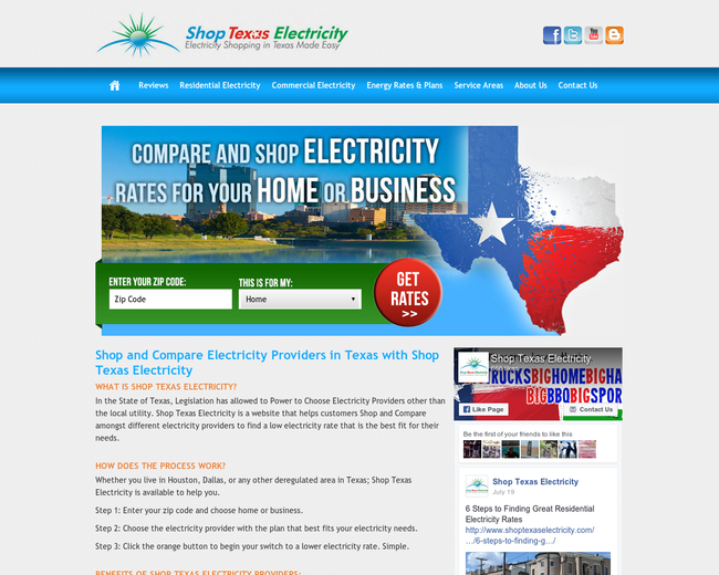 Shop TX Electricity