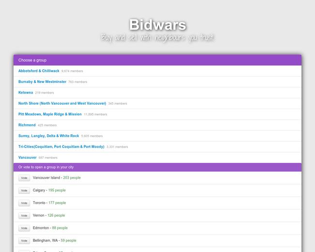 Bidwars