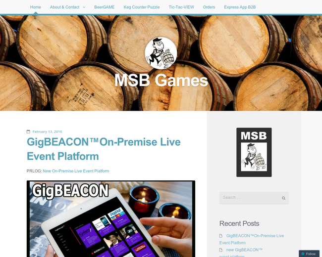 MSB Games Corp dba MeterSteiner
