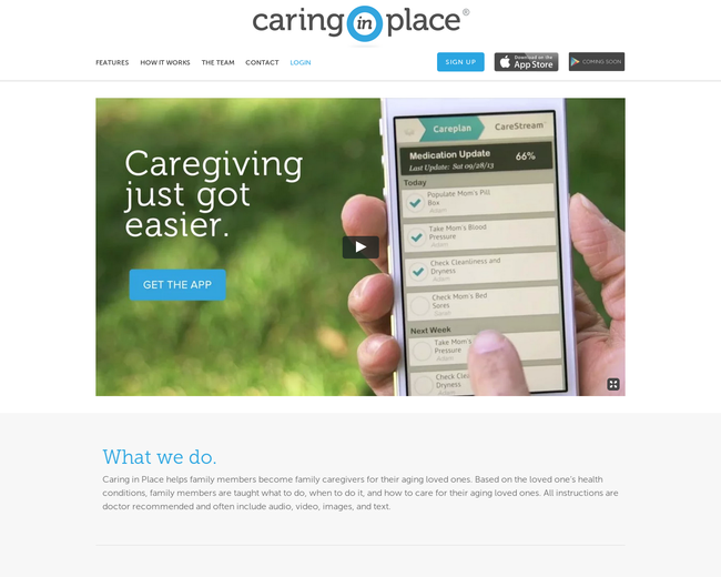 Caring in Place