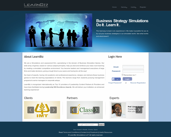LearnBiz Simulations