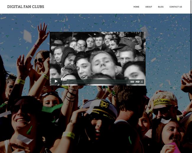 Digital Fan Clubs
