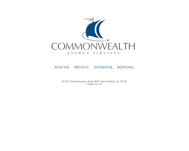 Commonwealth Energy Services