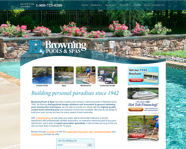Browning Pools and Spas