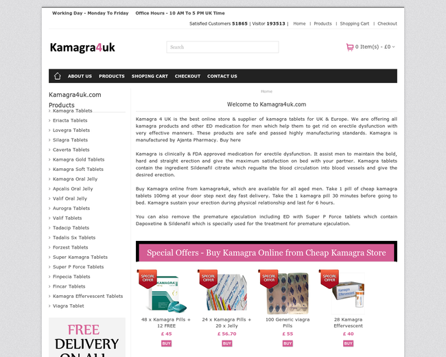 Buy cheap Kamagra 4 UK