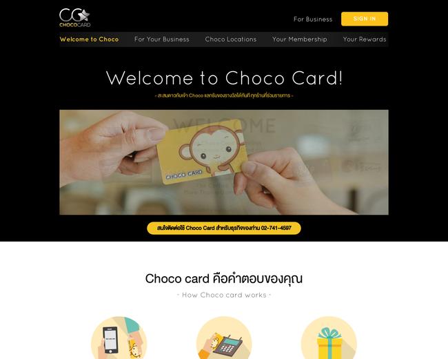 Choco Card