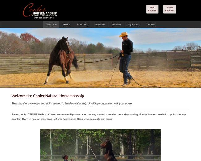 Cooler Horsemanship