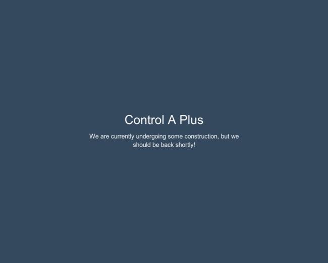 Control A+